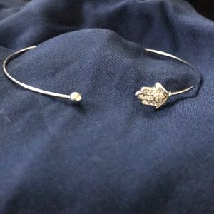 💕Hamsa Wire Bangle💕